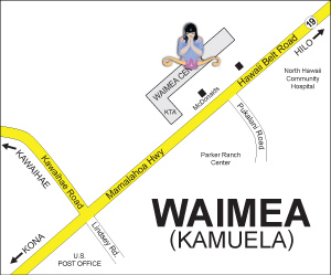 Waimea Map Location